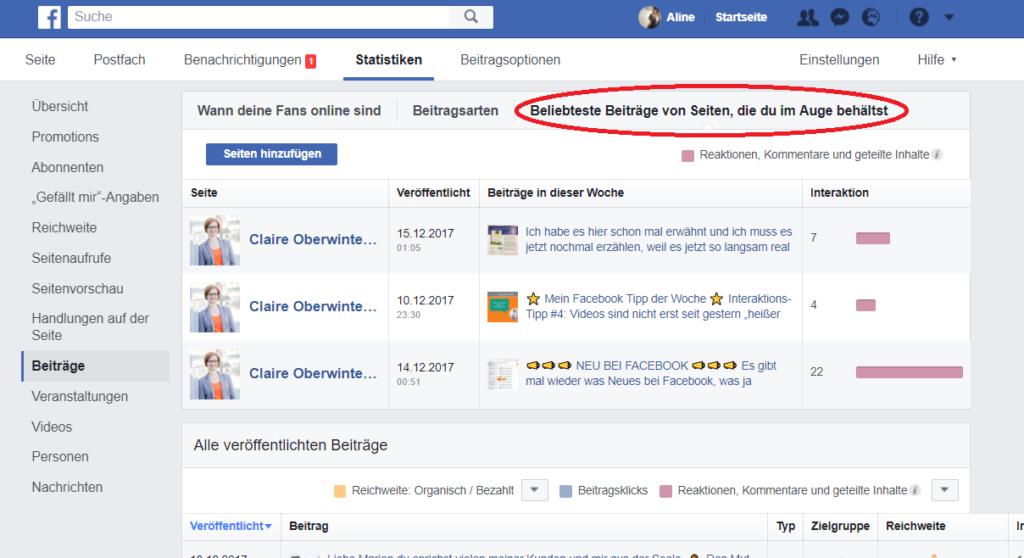 Facebook Wettberwerber
