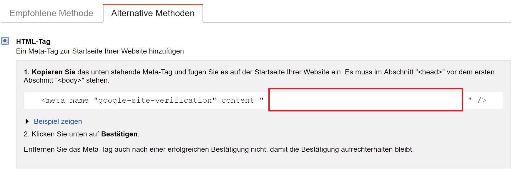 htmltag-search-console-google