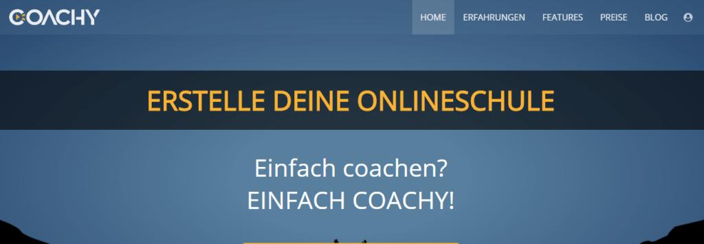Coachy online kurs