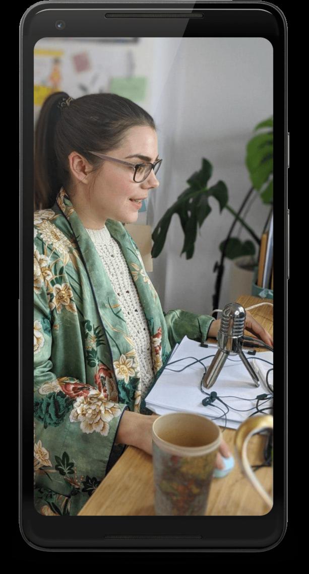Aline Pelzer - Handy - Mockup