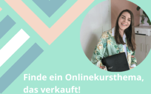 Finde ein Onlinekursthema