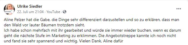 Ulrike Feedback